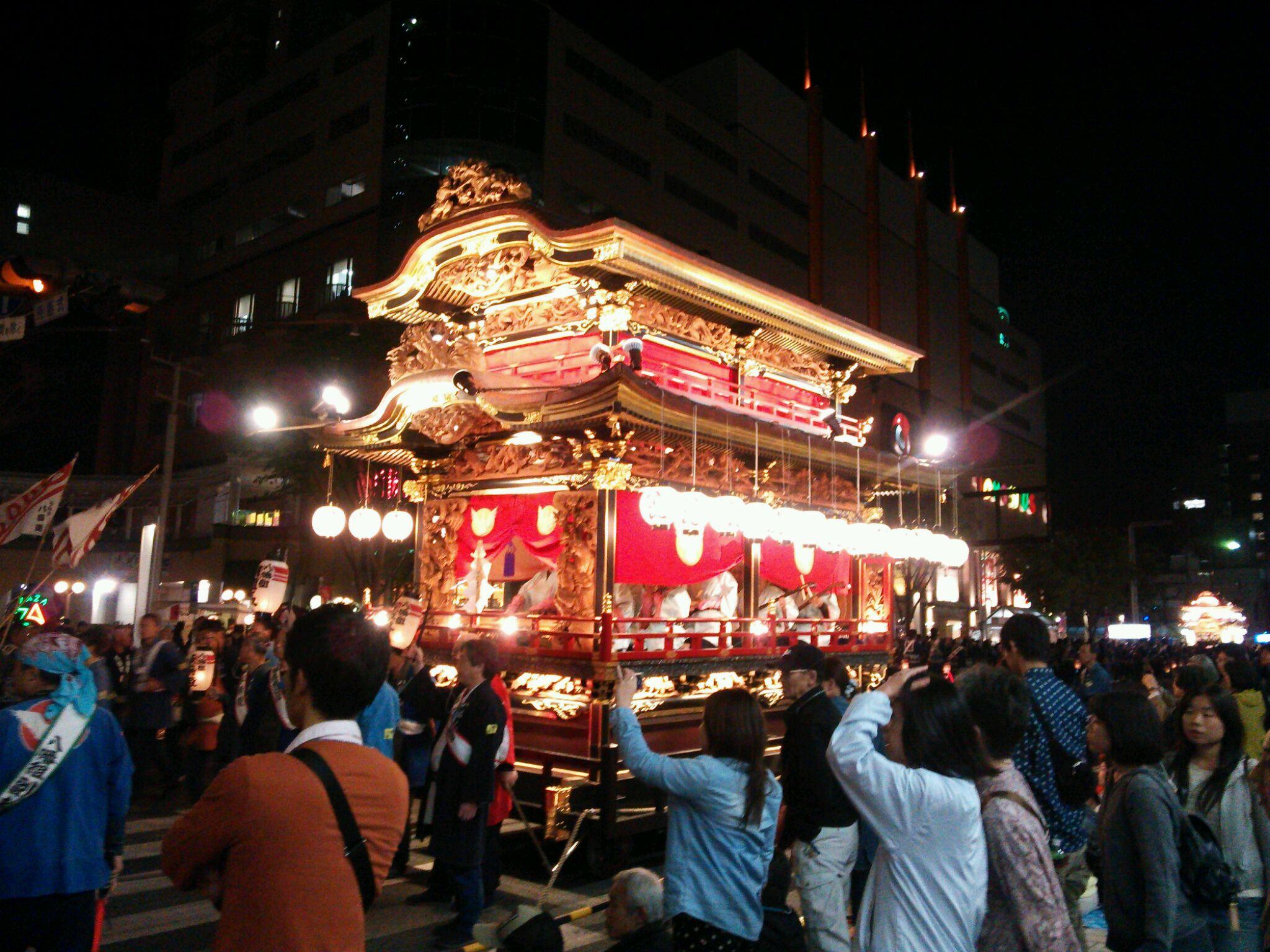 浜松祭りに!