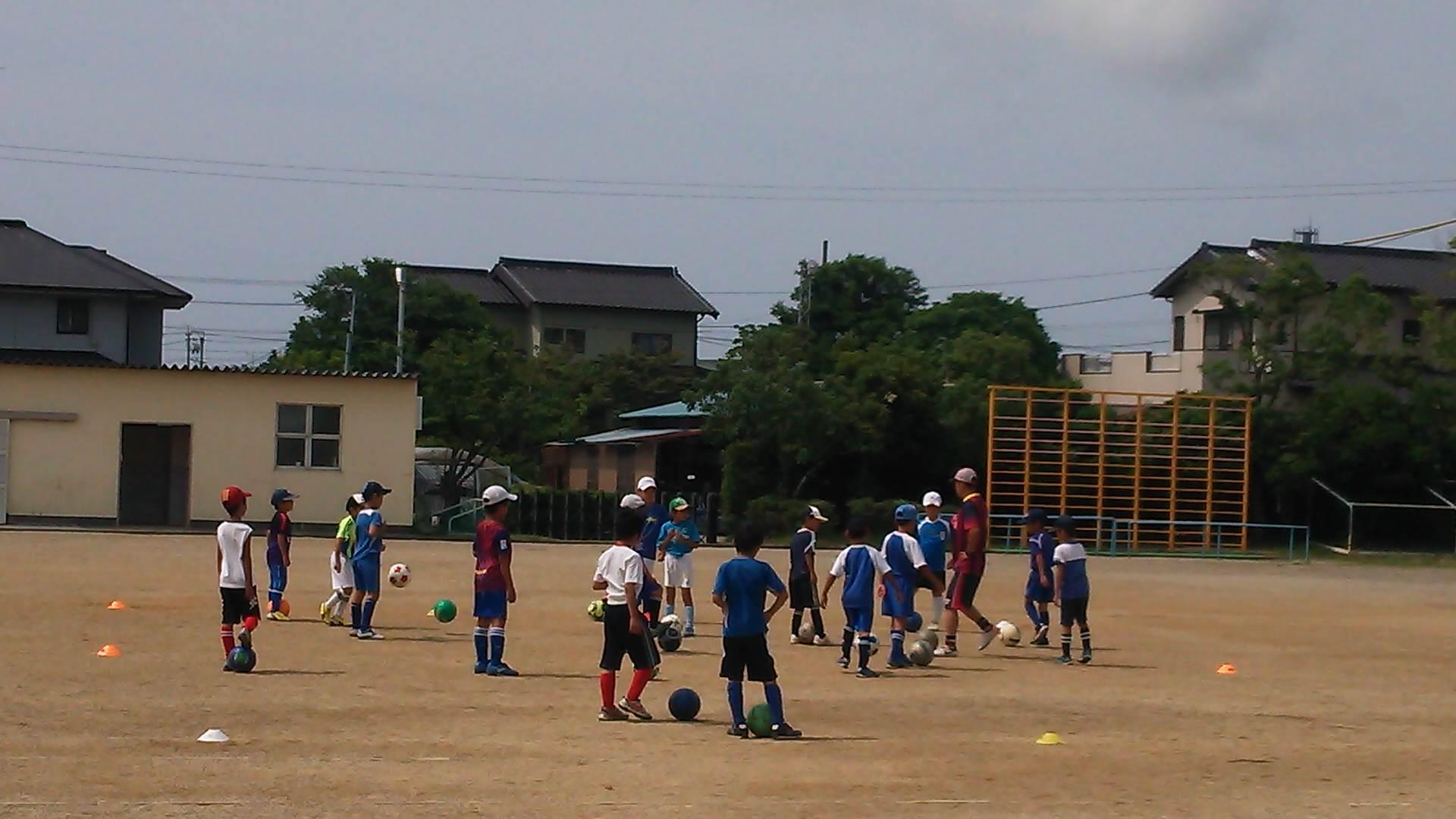 またサッカー